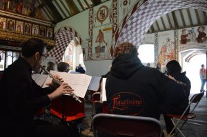 Joining with Flautissimo at St Fagans in April 2016